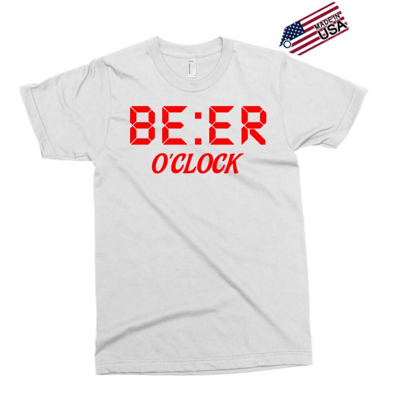 Beer O'clock Exclusive T-shirt | Artistshot
