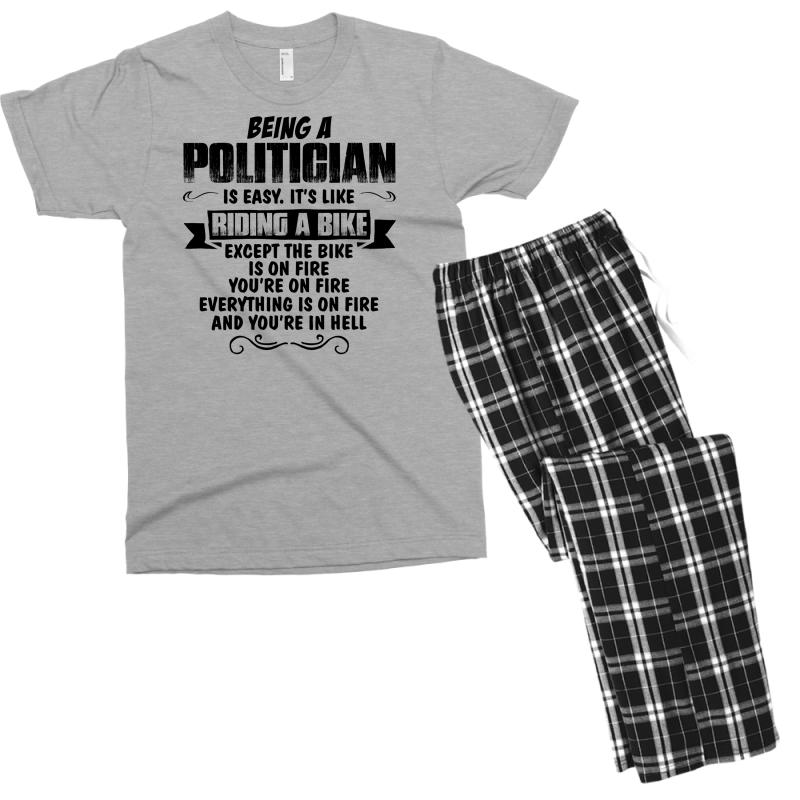 Being A Politician Copy Men's T-shirt Pajama Set | Artistshot