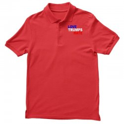 love trumps hate vote for hillary Polo Shirt | Artistshot