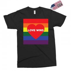 Love Wins Exclusive T-shirt | Artistshot