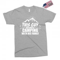 This Guy Loves Camping With His Family Exclusive T-shirt | Artistshot