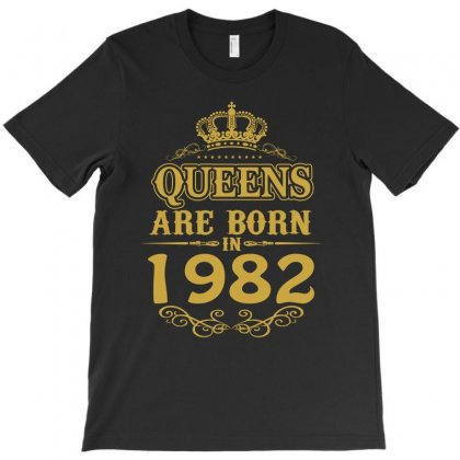 Queens Are Born In 1982 T-shirt Designed By Dang Minh Hai