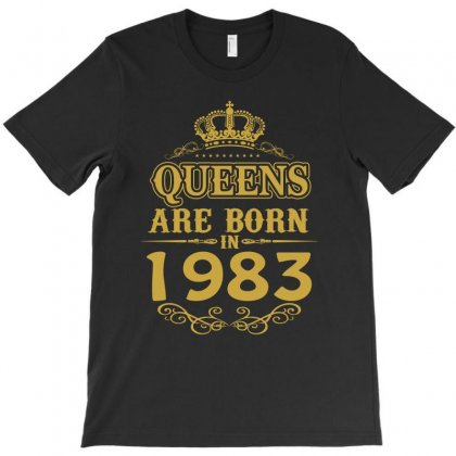 Queens Are Born In 1983 T-shirt Designed By Dang Minh Hai