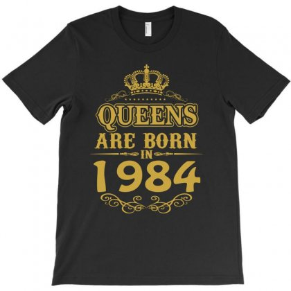 Queens Are Born In 1984 T-shirt Designed By Dang Minh Hai
