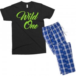 Wild One Men's T-shirt Pajama Set | Artistshot