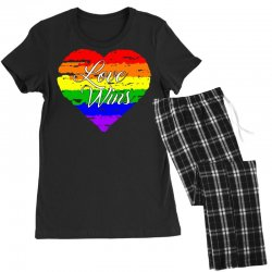 Love Wins One Pulse Orlando Strong Women's Pajamas Set | Artistshot