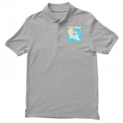 funny gym elsa let it grow frozen fitness Polo Shirt | Artistshot