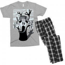 the tree's scream Men's T-shirt Pajama Set | Artistshot