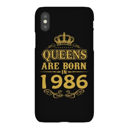 Queens Are Born In 1986 Iphonex Case Designed By Dang Minh Hai