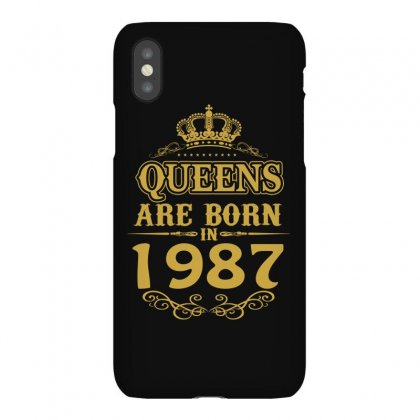 Queens Are Born In 1987 Iphonex Case Designed By Dang Minh Hai