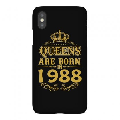 Queens Are Born In 1988 Iphonex Case Designed By Dang Minh Hai