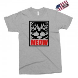 funny cat meow Exclusive T-shirt   Artistshot