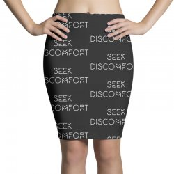 Yes Theory Seek Discomfort Pencil Skirts | Artistshot