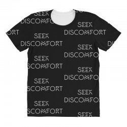 Yes Theory Seek Discomfort All Over Women's T-shirt | Artistshot