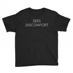 Yes Theory Seek Discomfort Youth Tee | Artistshot
