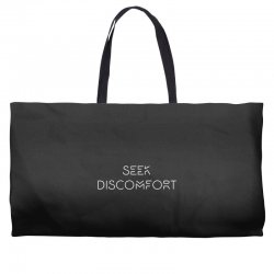 Yes Theory Seek Discomfort Weekender Totes | Artistshot