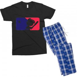 Peanuts League Baseball Men's T-shirt Pajama Set | Artistshot