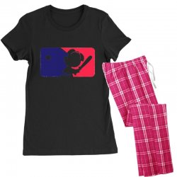 Peanuts League Baseball Women's Pajamas Set | Artistshot