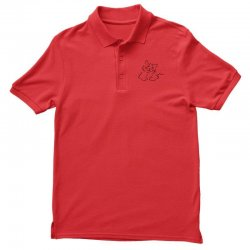 the cat simple Polo Shirt | Artistshot