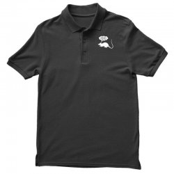 rat funny geek nerd scientific experiments are fun Polo Shirt | Artistshot