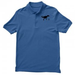funny t rex pet banksy guys stencil t shirt indie Polo Shirt | Artistshot