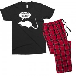 rat funny geek nerd scientific experiments are fun Men's T-shirt Pajama Set | Artistshot