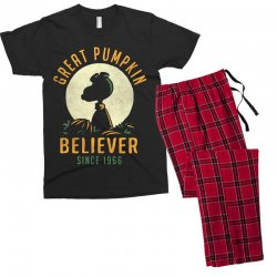 Great Pumpkin Believer Men's T-shirt Pajama Set | Artistshot