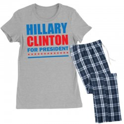 Hillary Clinton For President Women's Pajamas Set | Artistshot