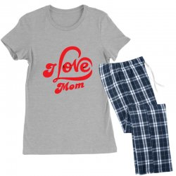 I love mom Women's Pajamas Set | Artistshot