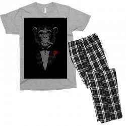 Monkey Busniseman Men's T-shirt Pajama Set | Artistshot
