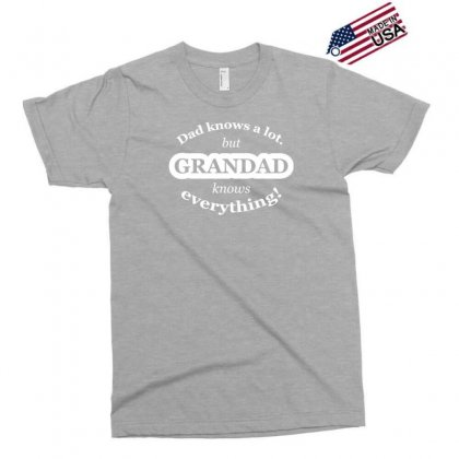 Grandad Knows Everything Exclusive T-shirt Designed By Gematees