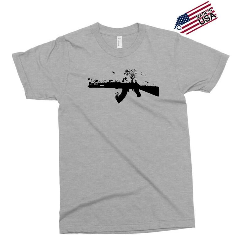 Banksy Style Ak47 Art Clothing Shoes Accessories Men S Clothing