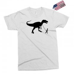 funny t rex pet banksy guys stencil t shirt indie Exclusive T-shirt | Artistshot