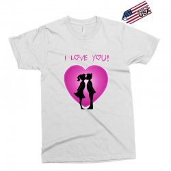 I love you Exclusive T-shirt | Artistshot