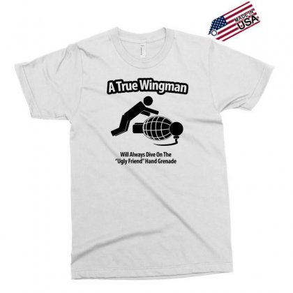A True Wingman Exclusive T-shirt Designed By Gematees