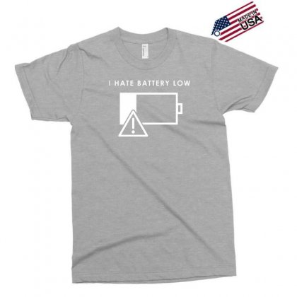 Hate Battery Low Exclusive T-shirt Designed By Gematees