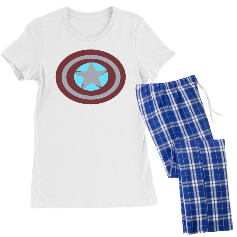 eef9f97afe22 Custom Captain America Shield Women's Pajamas Set By Mdk Art - Artistshot