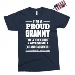 Proud Grammy Of A Freaking Awesome Granddaughter Exclusive T-shirt | Artistshot
