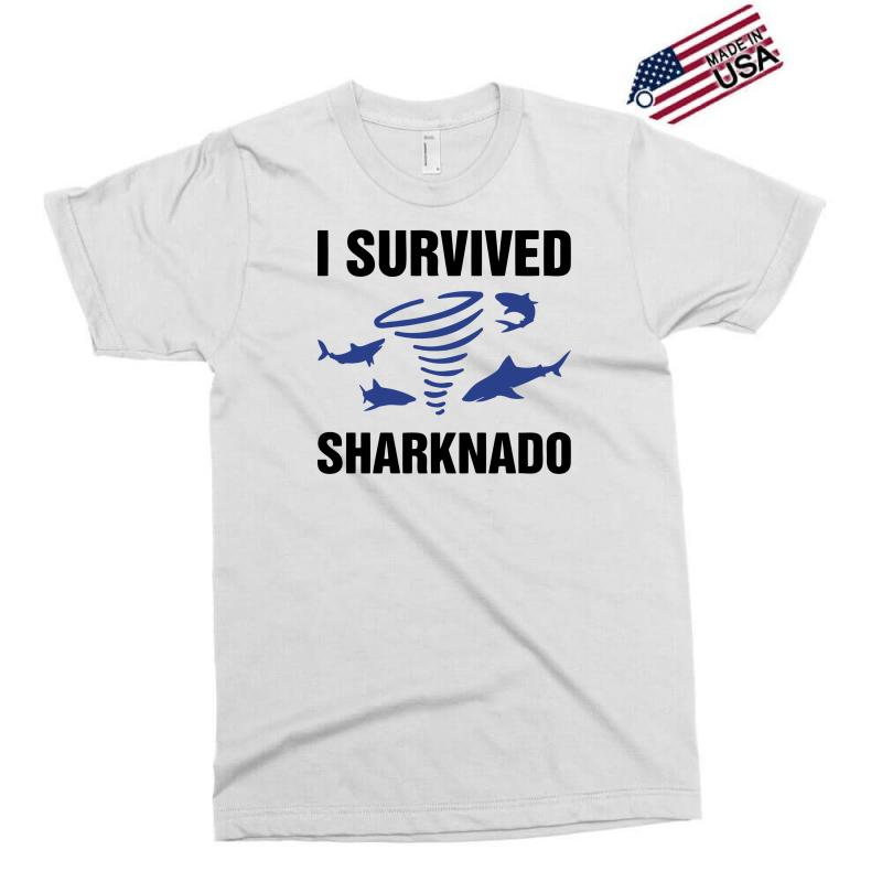 I Survided Sharknado Exclusive T-shirt | Artistshot
