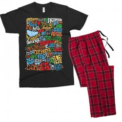 funny john lennon imagine quote Men's T-shirt Pajama Set | Artistshot