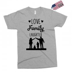 love family laughter Exclusive T-shirt | Artistshot