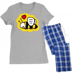 love bee lover valentine Women's Pajamas Set | Artistshot
