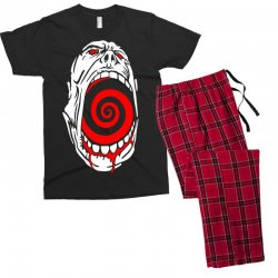 screaming face Men's T-shirt Pajama Set | Artistshot