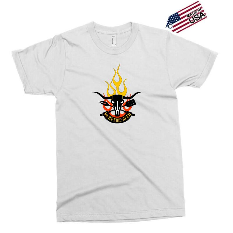 1b0430924 Custom Meat Fire Beer Father's Day Exclusive T-shirt By Yudyud ...