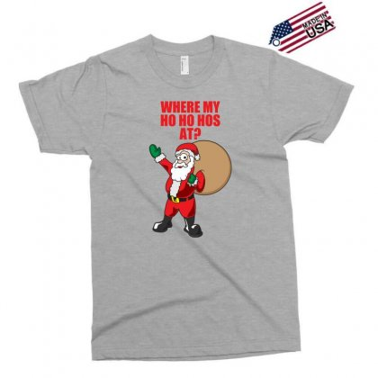 Where My Ho Ho Hos At Exclusive T-shirt Designed By Gematees