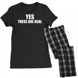 yes these are real funny Women's Pajamas Set | Artistshot