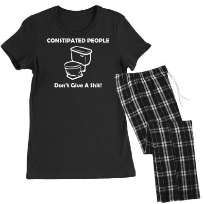 Constipated People Women's Pajamas Set Designed By Tonyhaddearts