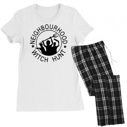 Neighbourhood Witch Hunt Women's Pajamas Set Designed By Tonyhaddearts
