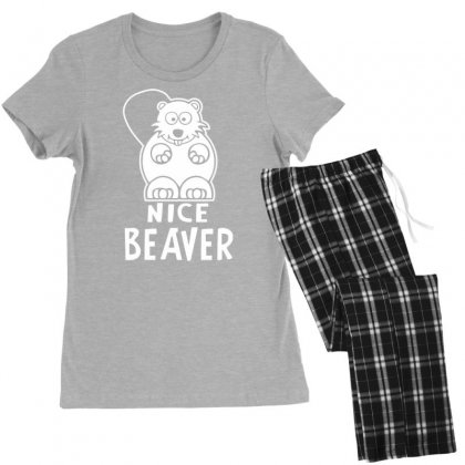 Nice Beaver Women's Pajamas Set Designed By Tonyhaddearts