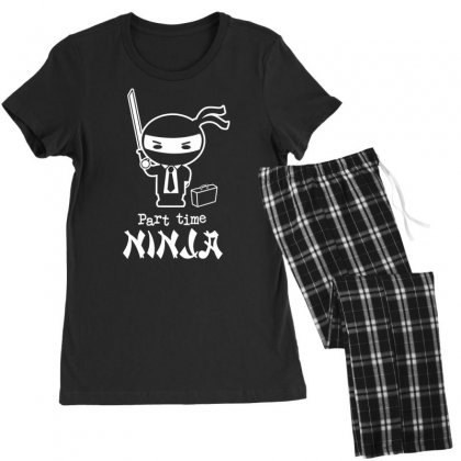 Part Time Ninja Women's Pajamas Set Designed By Tonyhaddearts
